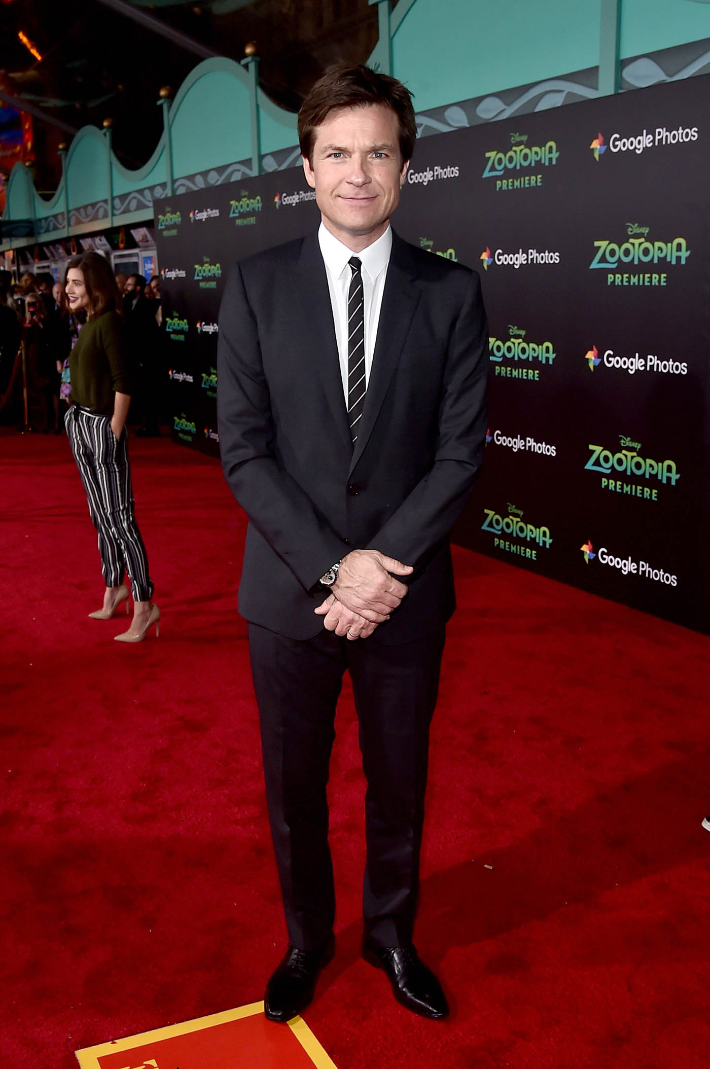 """HOLLYWOOD, CA - FEBRUARY 17: Actor Jason Bateman attends the Los Angeles premiere of Walt Disney Animation Studios' """"Zootopia"""" on February 17, 2016 in Hollywood, California. (Photo by Alberto E. Rodriguez/Getty Images for Disney) *** Local Caption *** Jason Bateman"""