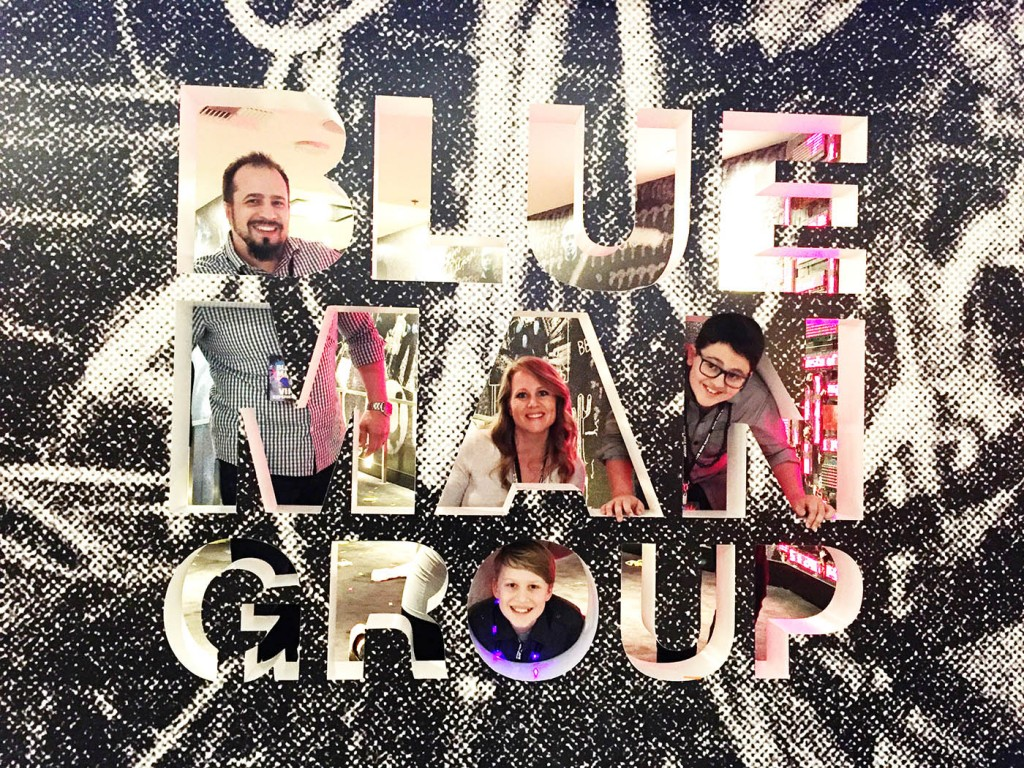 Blue Man Group in Las Vegas + Giveaway!