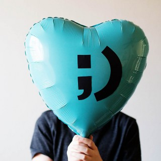 DIY Valentine Balloon Idea
