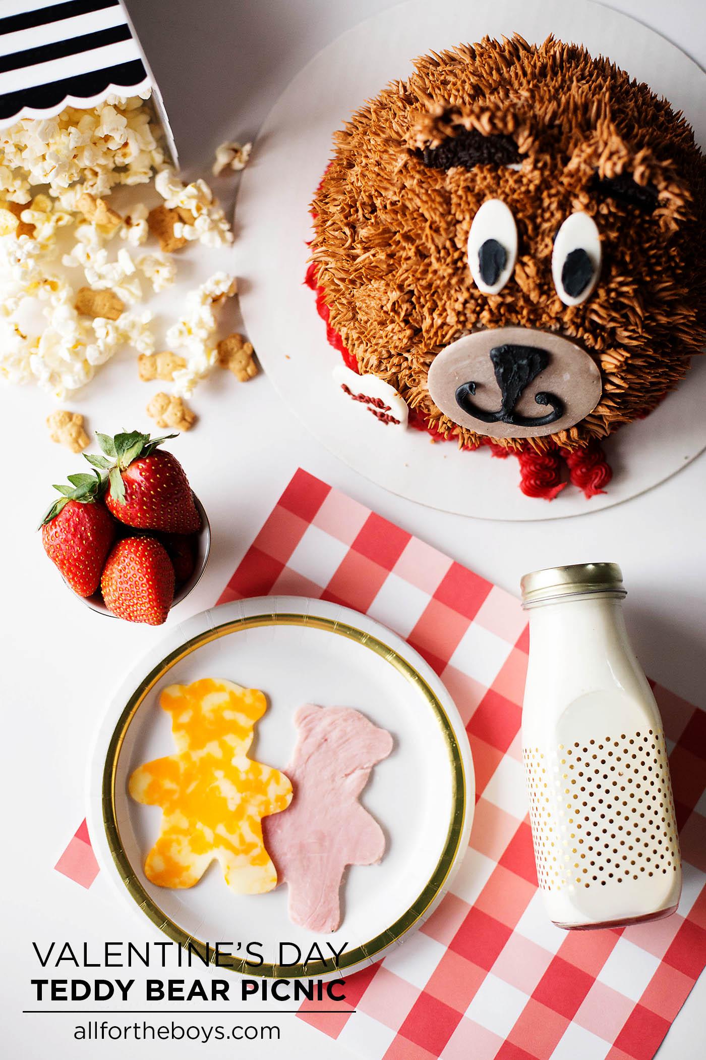 Valentine's Day Teddy Bear Picnic