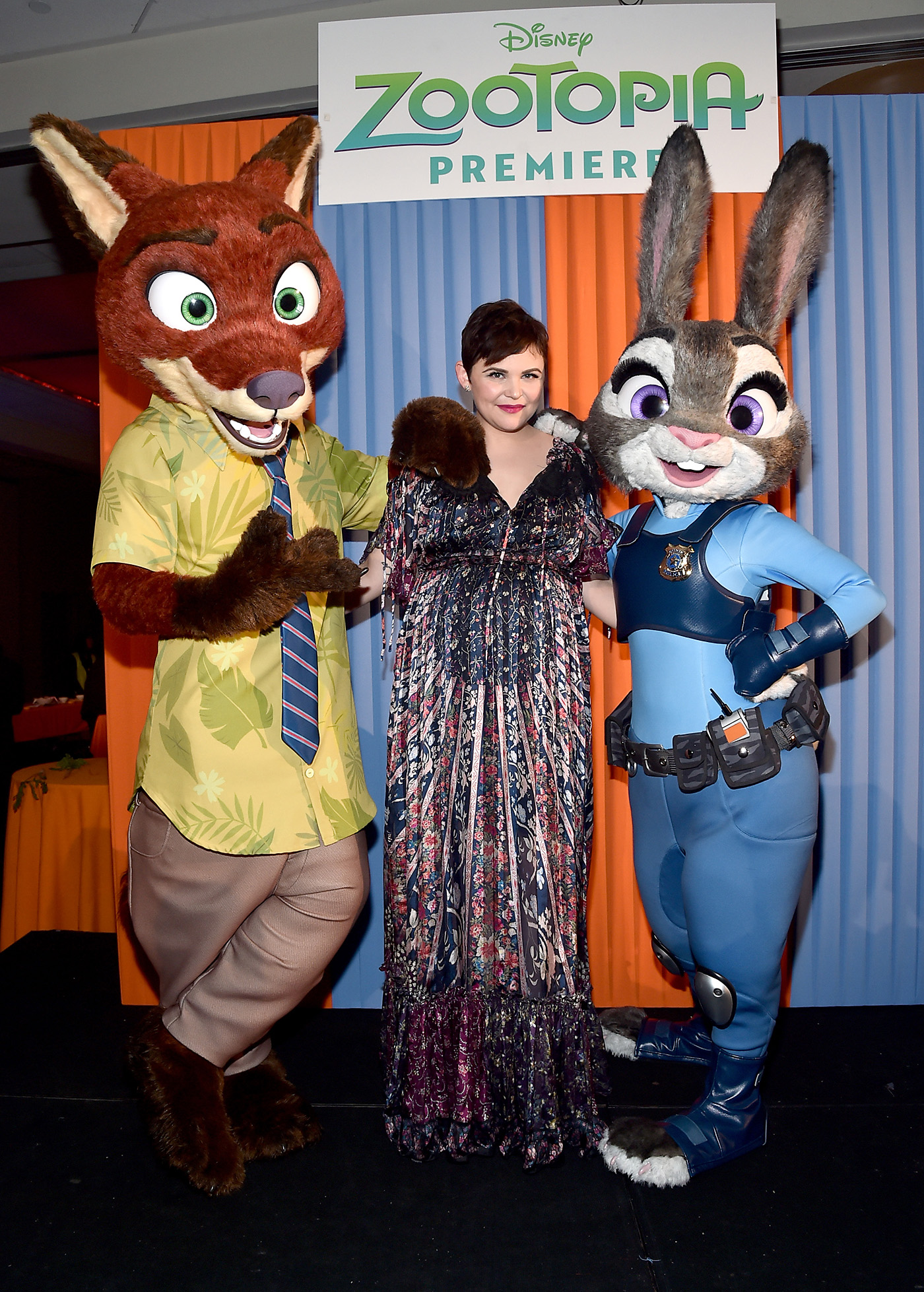 "HOLLYWOOD, CA - FEBRUARY 17: Actress Ginnifer Goodwin attends the Los Angeles premiere of Walt Disney Animation Studios' ""Zootopia"" on February 17, 2016 in Hollywood, California. (Photo by Alberto E. Rodriguez/Getty Images for Disney) *** Local Caption *** Ginnifer Goodwin"