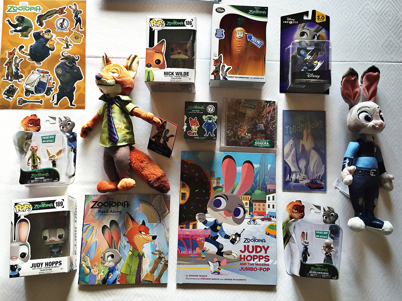 Zootopia products