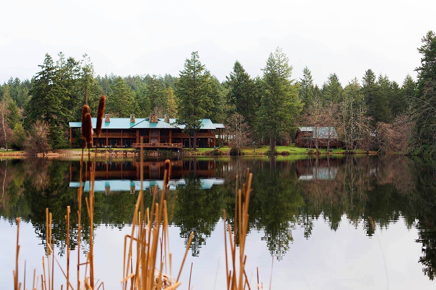 Lakedale Resort on San Juan Island near Washington