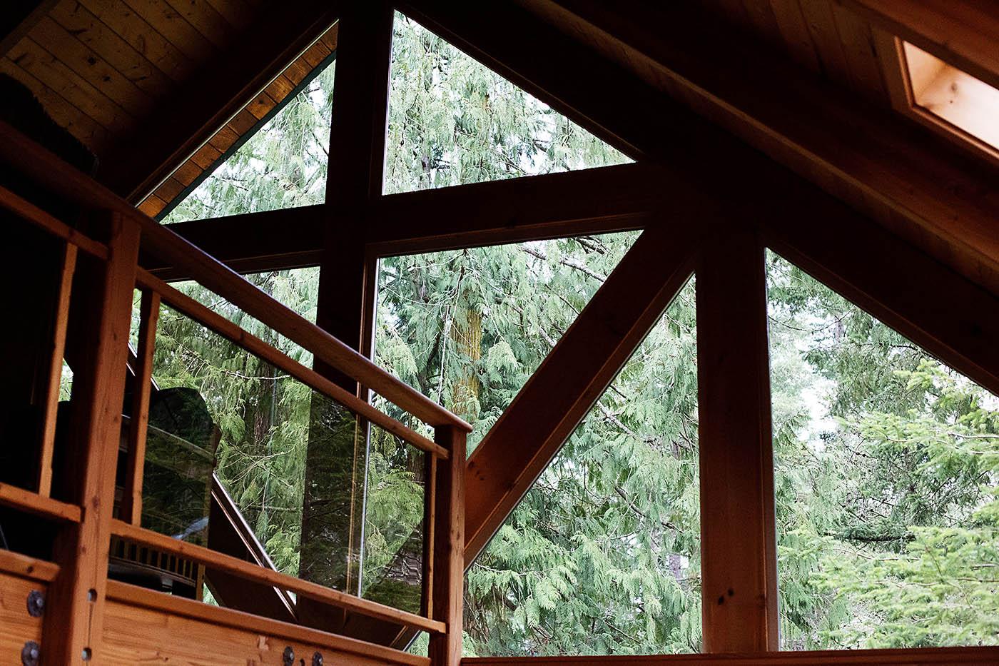 Cabins at Lakedale Resort on San Juan Island near Washington