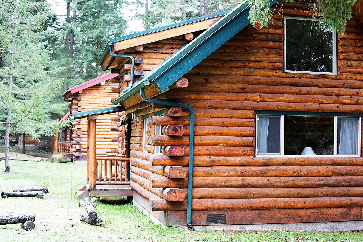 ... Cabins At Lakedale Resort On San Juan Island Near Washington ...