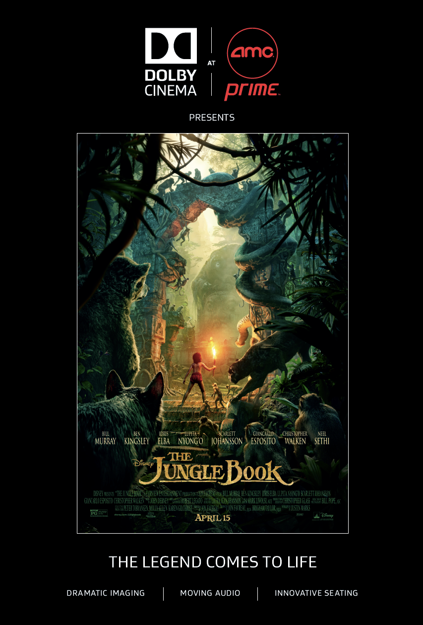 The Jungle Book in Dolby Cinema