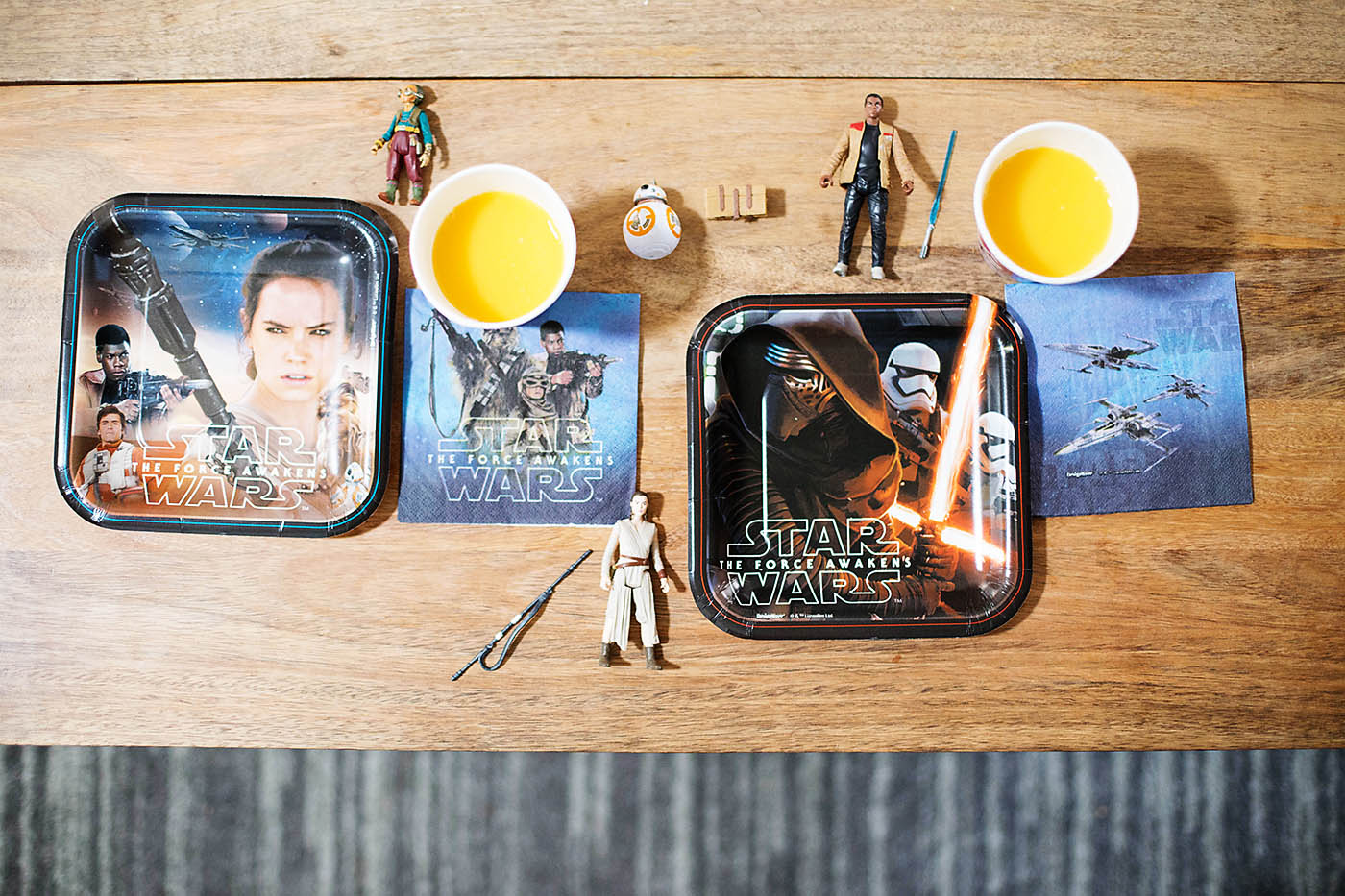 DIY droid targets inspired by Star Wars: The Force Awakens