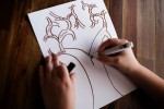 How to Draw a Family Tree for Mother's Day to go with a Hallmark Tree of Life Pendant