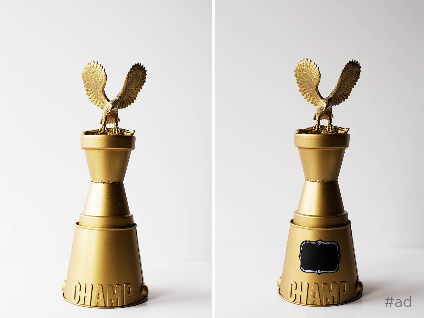 Family game night & a DIY trophy!