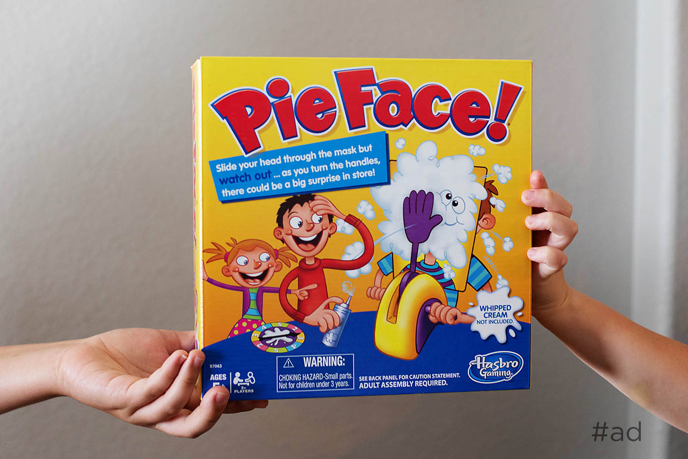 Solving sibling disputes with the Pie Face game