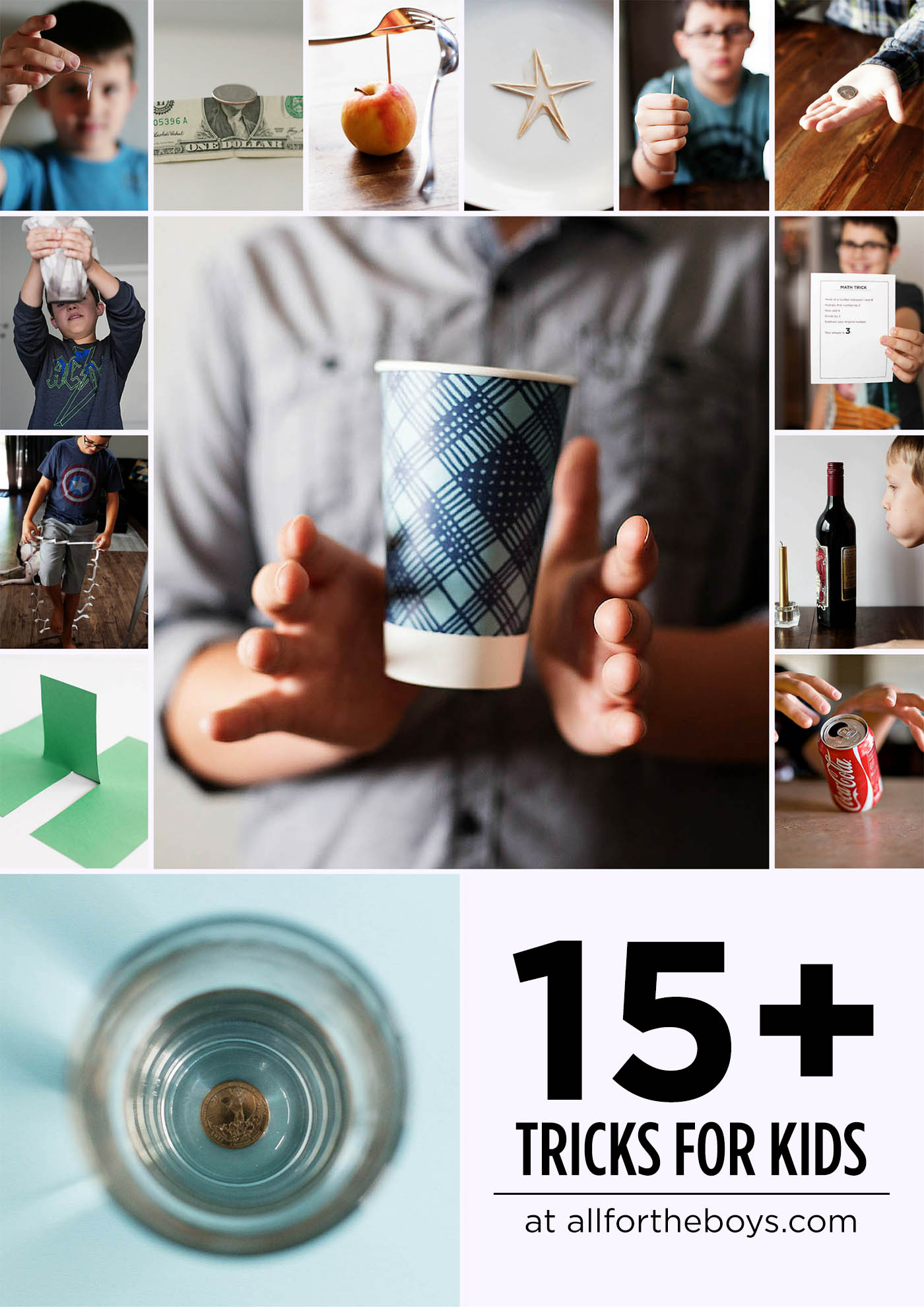 15+ fun tricks for kids to learn!