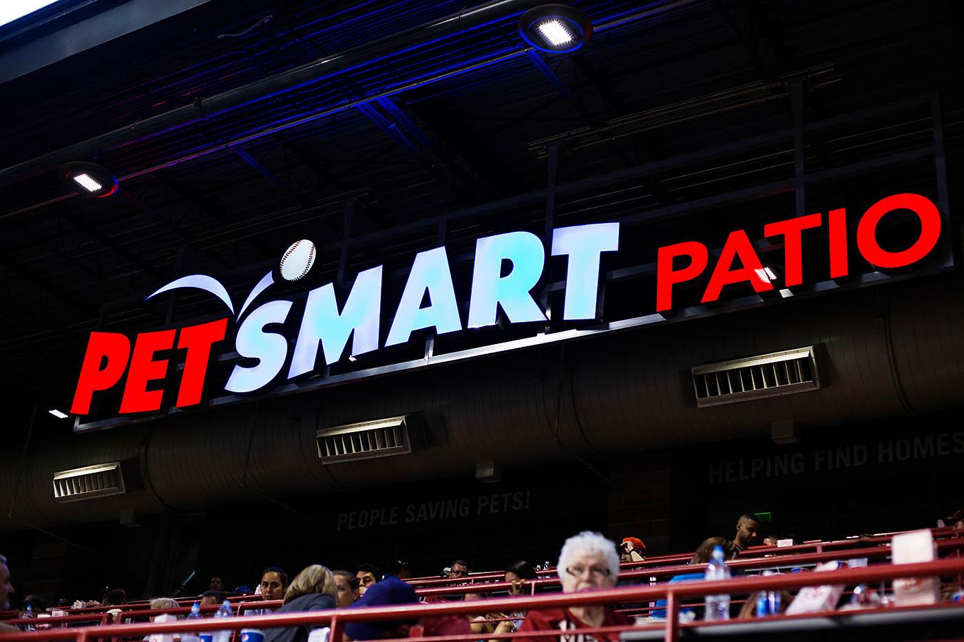 PetSmart Patio at Chase Field in Phoenix, AZ