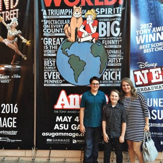 Go see ANNIE at ASU Gammage This Weekend!