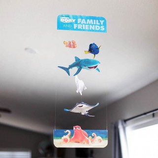 Finding Dory Printable Mobile + Matching Game