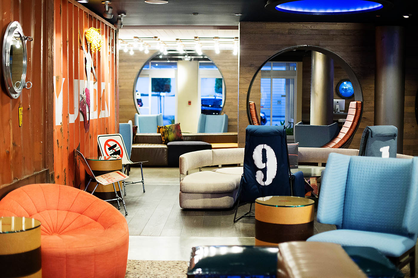 Hotel Zephyr in San Francisco is a fun family property with a great location near Fisherman's Wharf