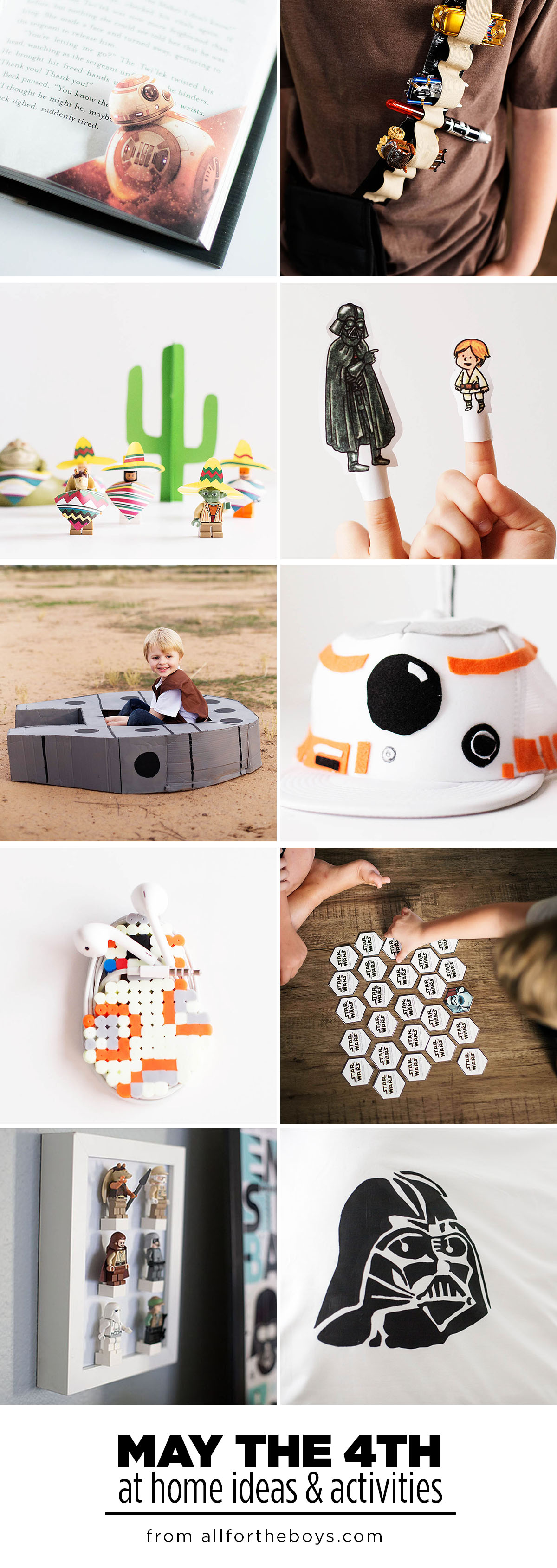 May the Fourth Star Wars activities and ideas