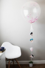 DIY Photo Balloon Garland