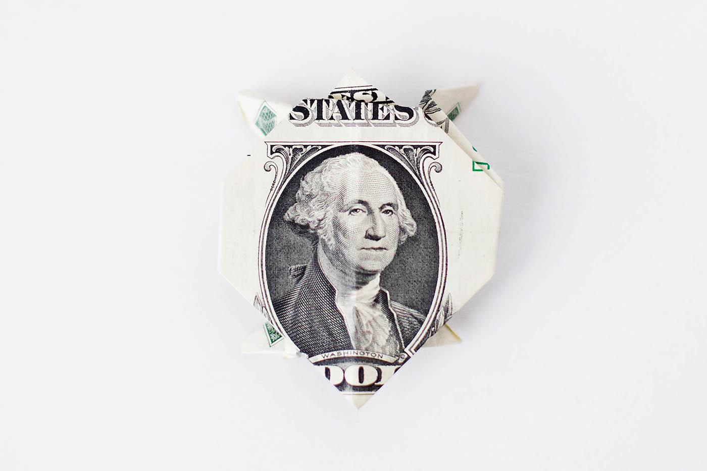 25 Money Origami Tutorials | 3D Dollar Bill Crafts | 933x1400