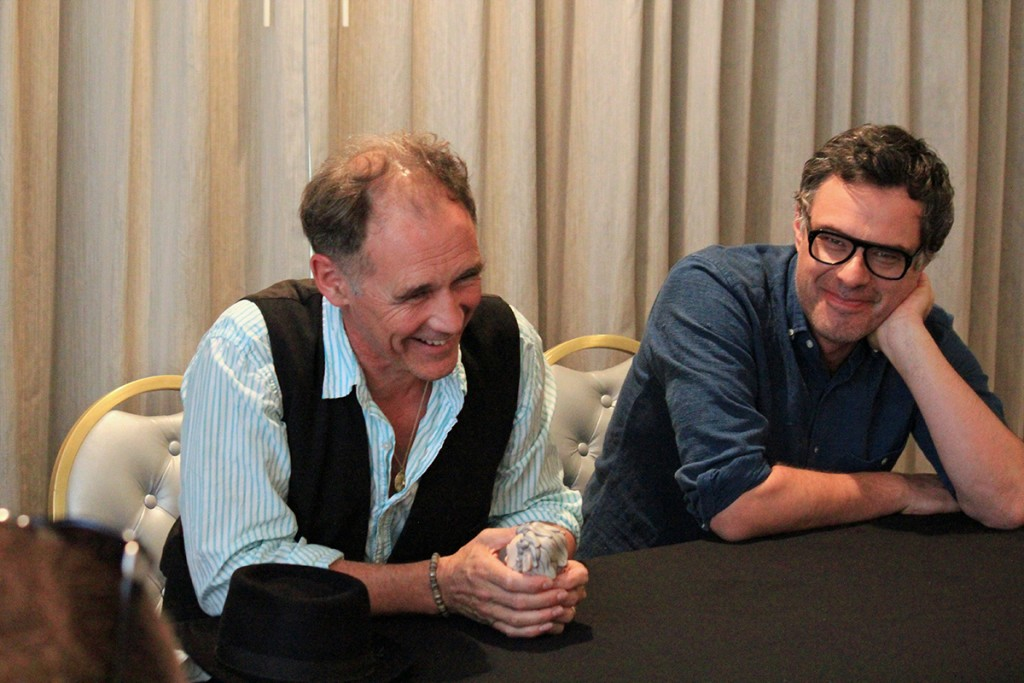 Chatting with Mark Rylance & Jemaine Clement #TheBFGEvent