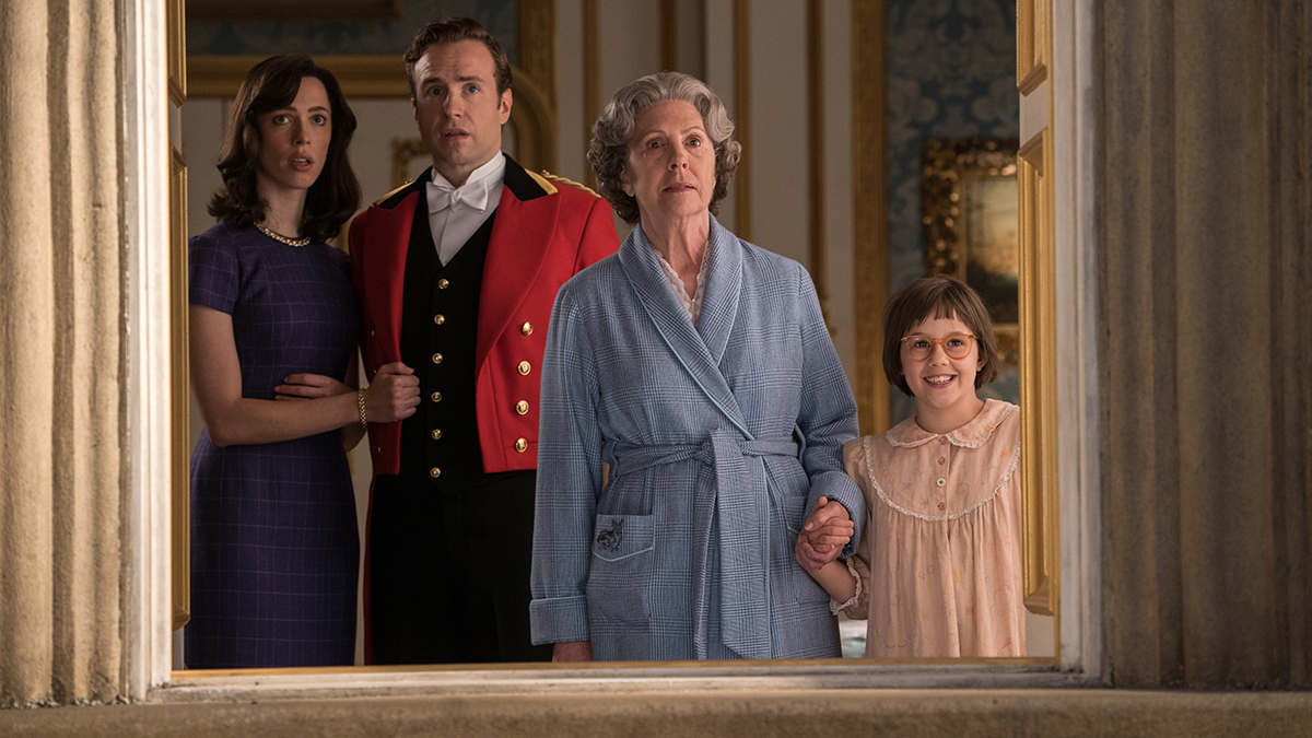 Disney's THE BFG is the imaginative story of a young girl named Sophie (Ruby Barnhill) and the Big Friendly Giant (Oscar (TM) winner Mark Rylance) who introduces her to the wonders and perils of Giant Country Penelope Wilton is the Queen, Rebecca Hall is Mary and Rafe Spall is Mr. Tibbs. Directed by Steven Spielberg, the film is based on the beloved book by Roald Dahl.