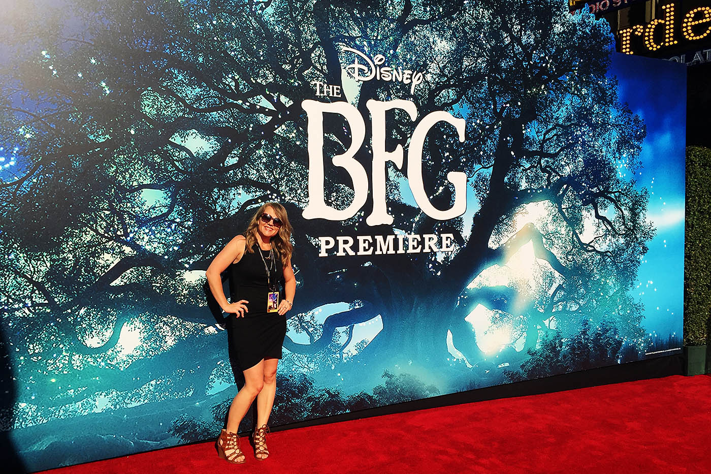 The BFG Red Carpet premiere in Hollywood. Perspective from a first timer #TheBFGEvent