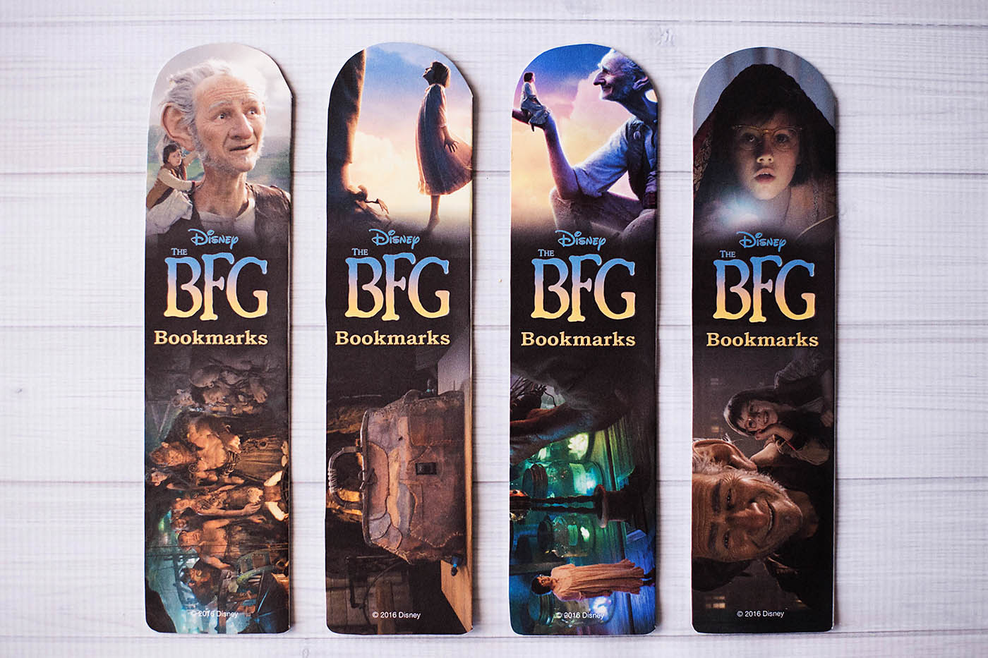The BFG printable bookmarks