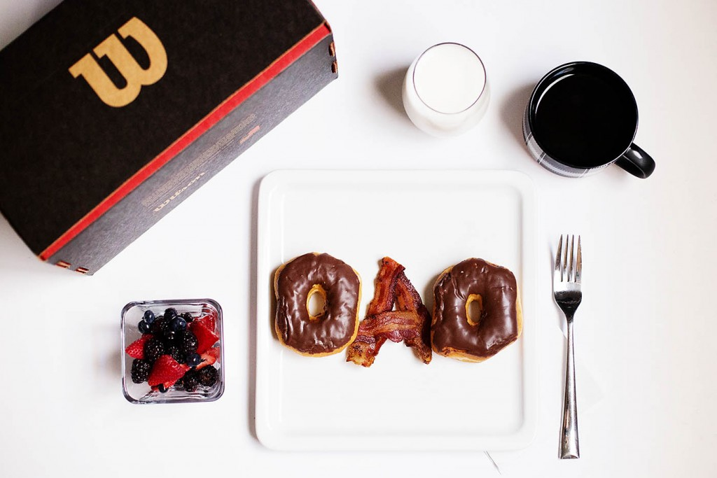 Father's Day Gift  + Breakfast in Bed For Any Dad
