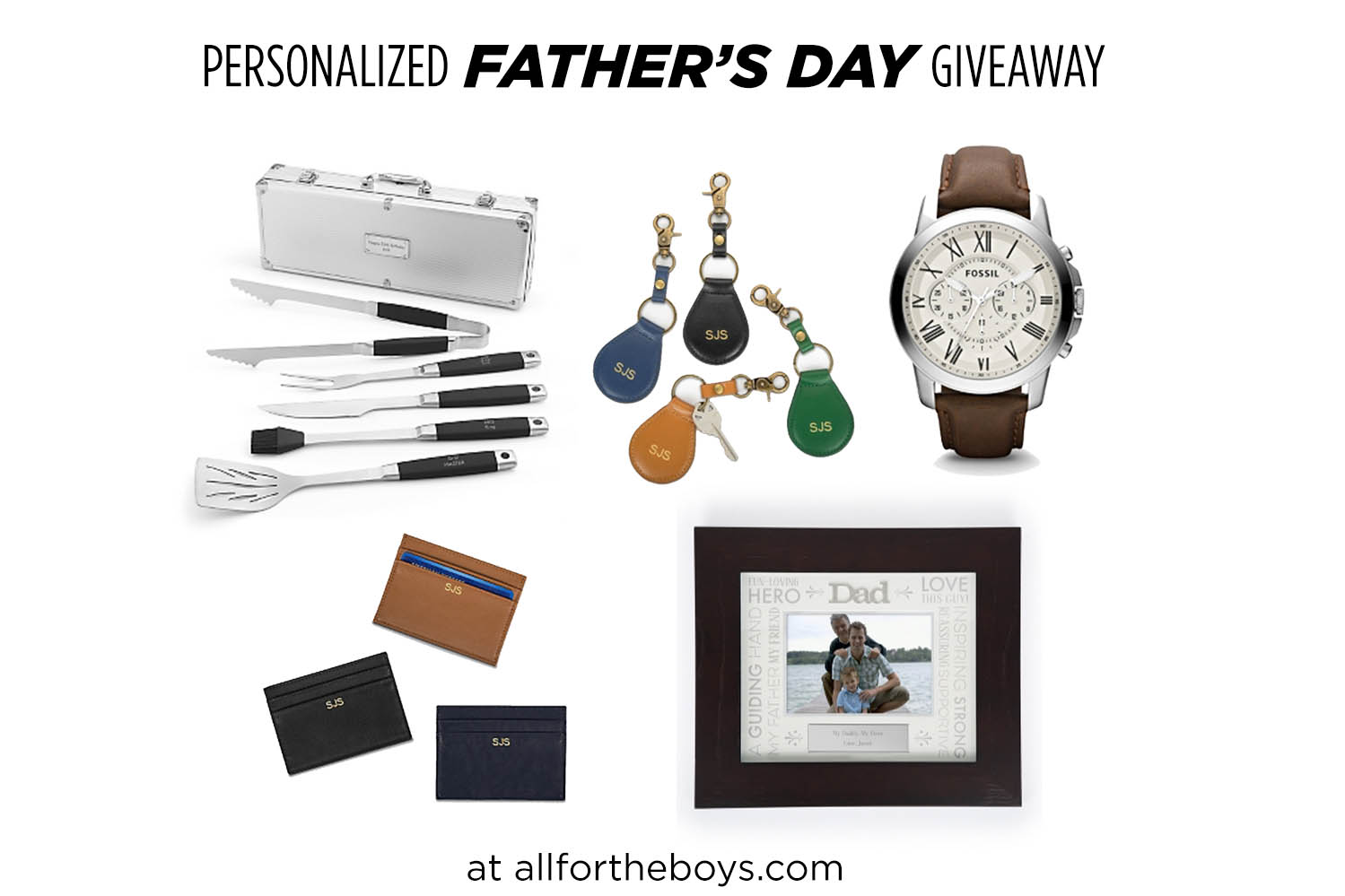 Father's Day Giveaway from Things Remembered and All for the Boys