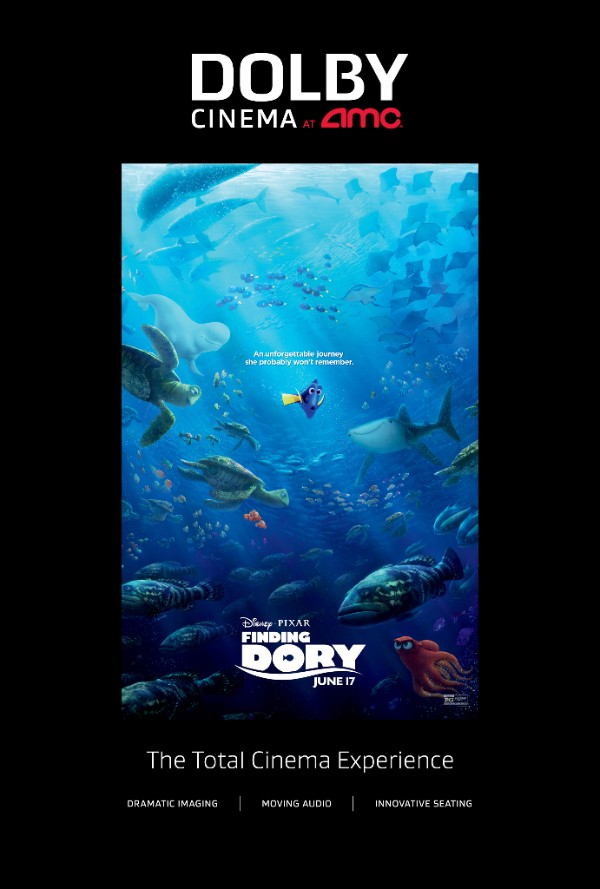 Finding Dory at AMC Prime