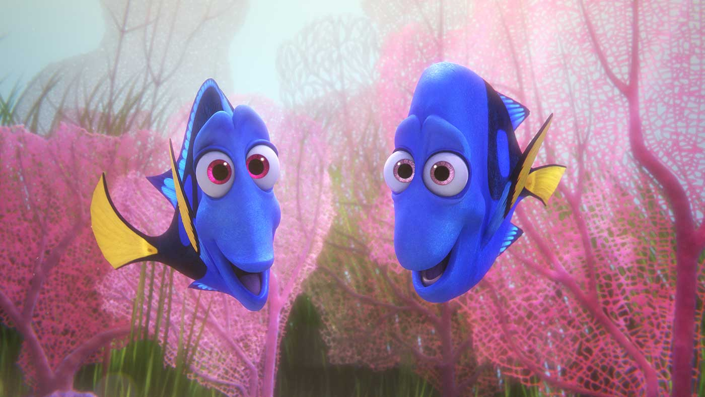 Finding Dory in Dolby Cinema at AMC