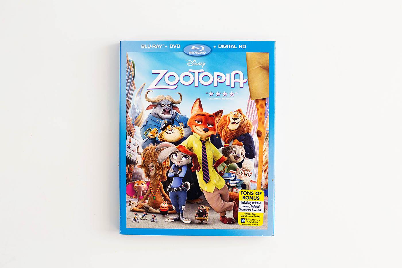 Zootopia Jumbeaux Sundaes to make at home on movie night!