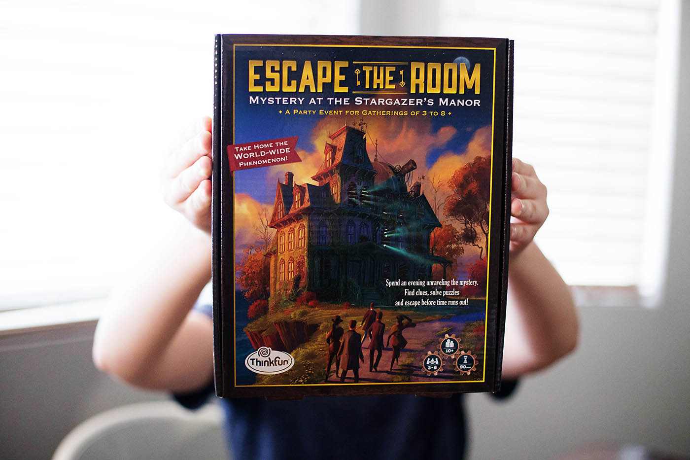 Super fun at home escape the room game all for the boys for Escape room party