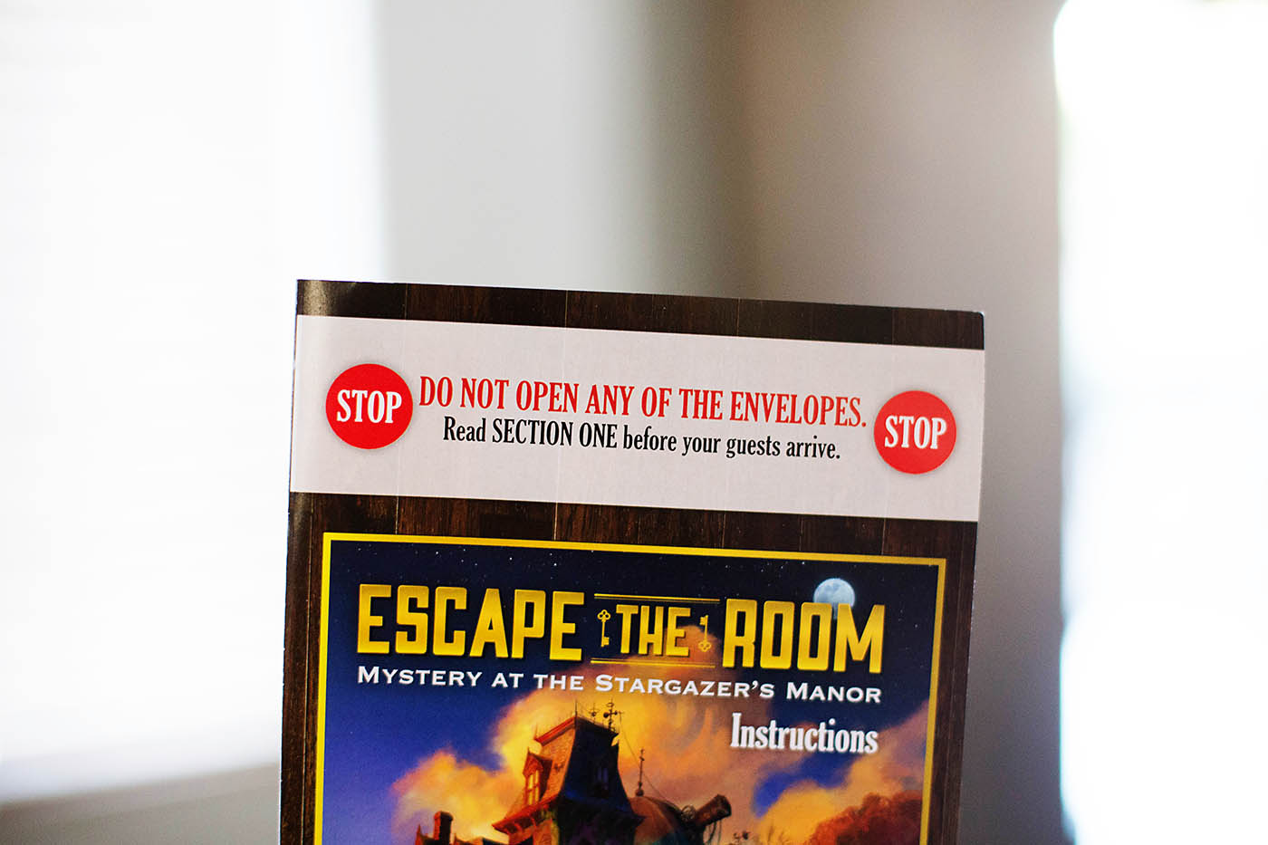 Escape the Room at home escape room type party game