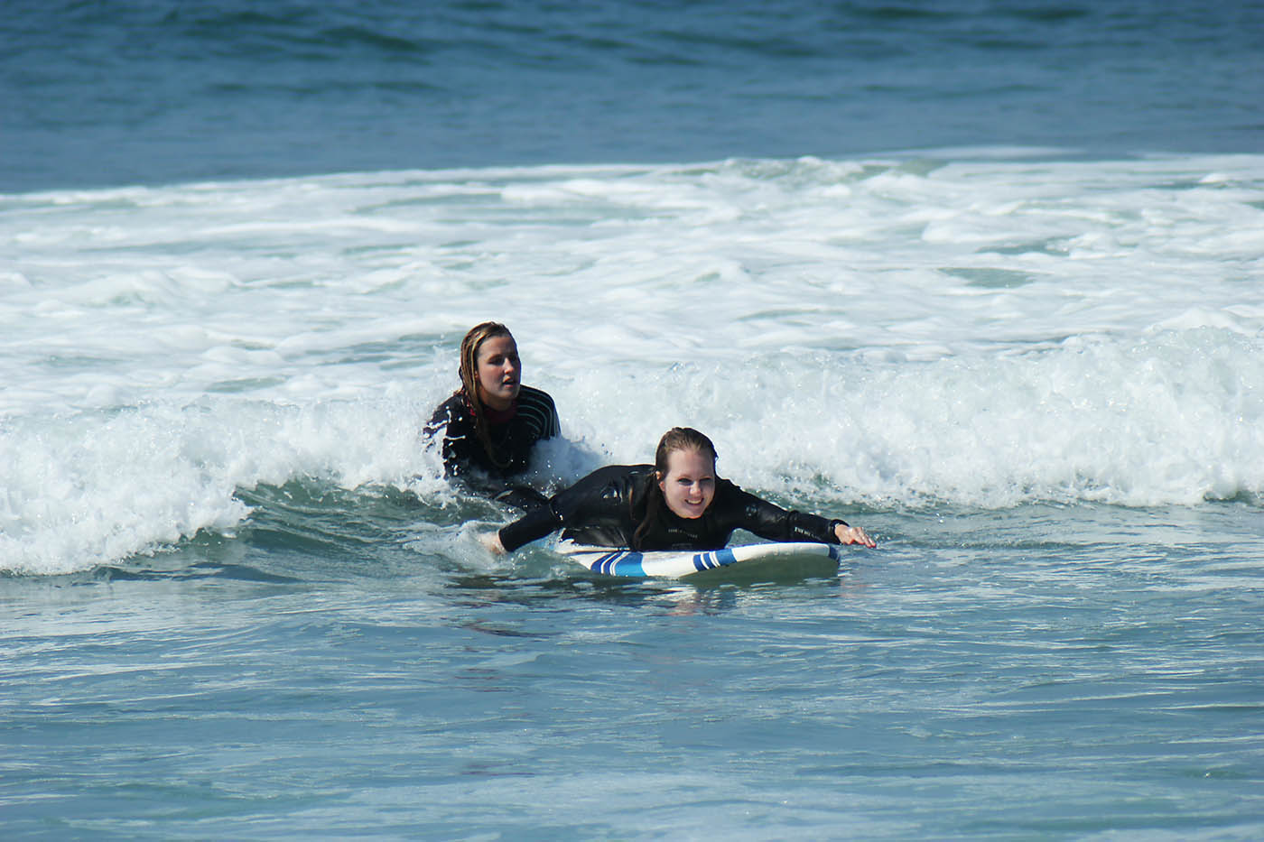 Surf lessons in San Clemente, CA