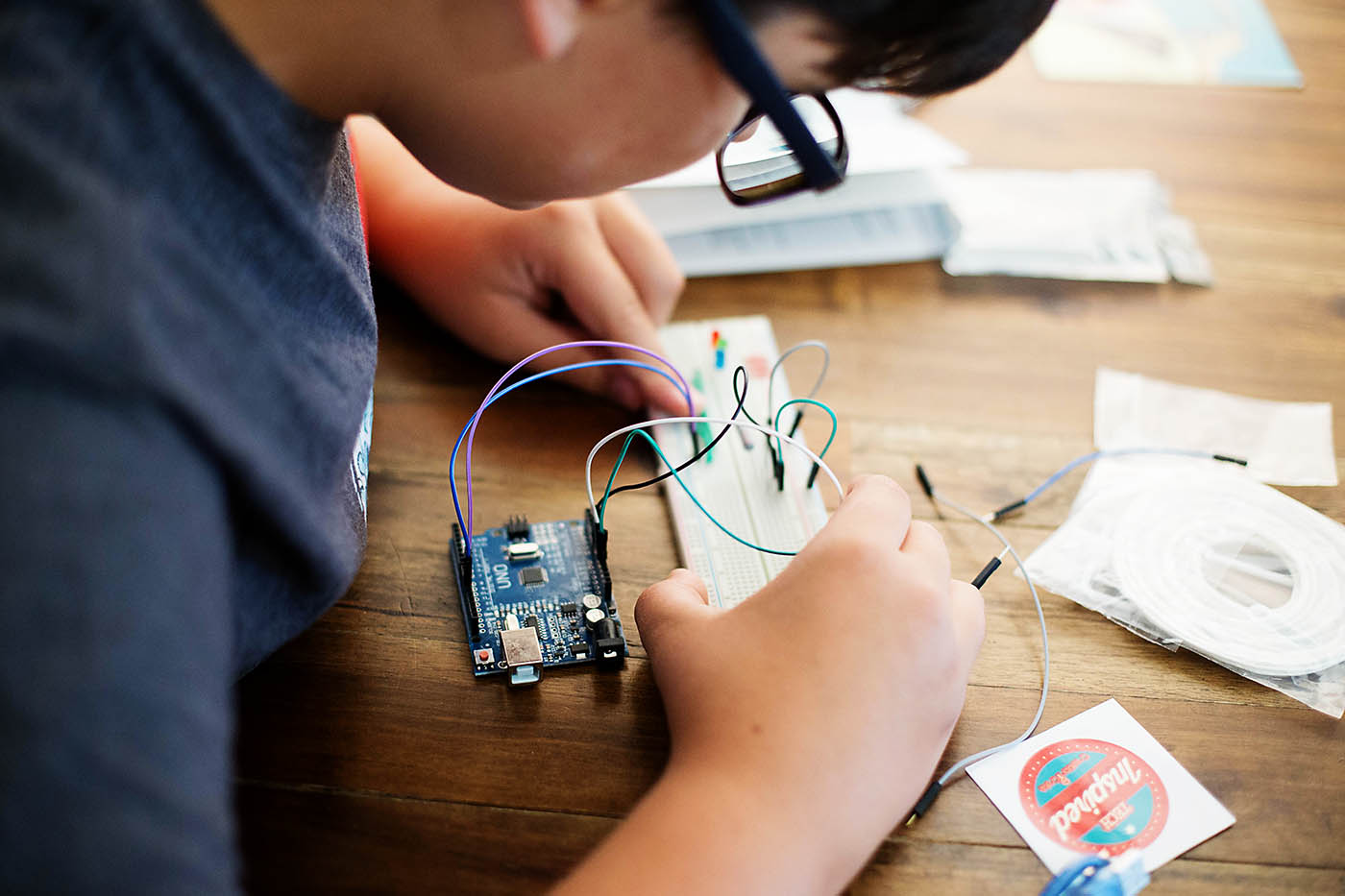 Creation Crate subscription box - awesome for kids who are into coding or any maker who wants to learn more about electronics