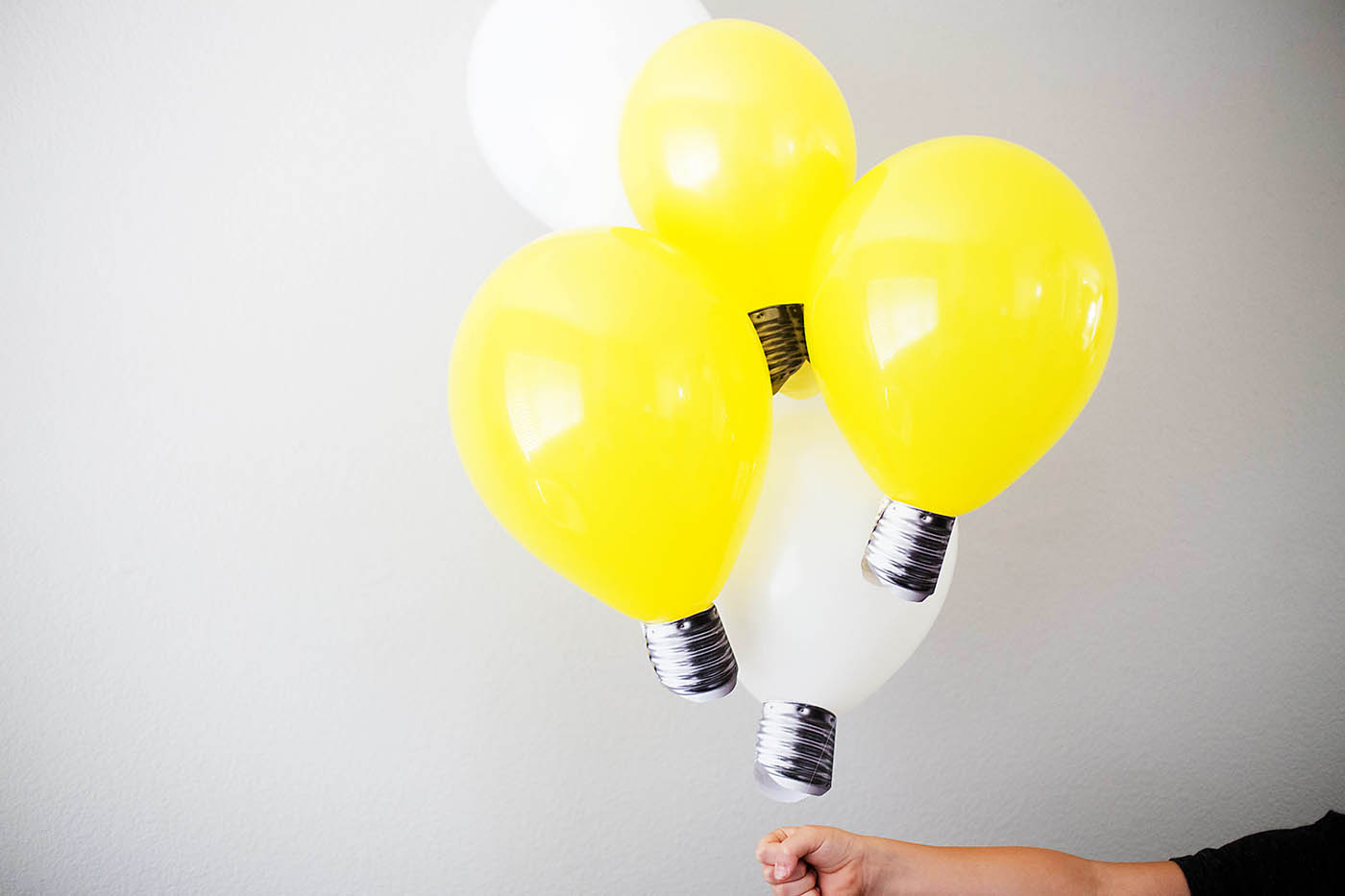 diy lightbulb balloons u2014 all for the boys