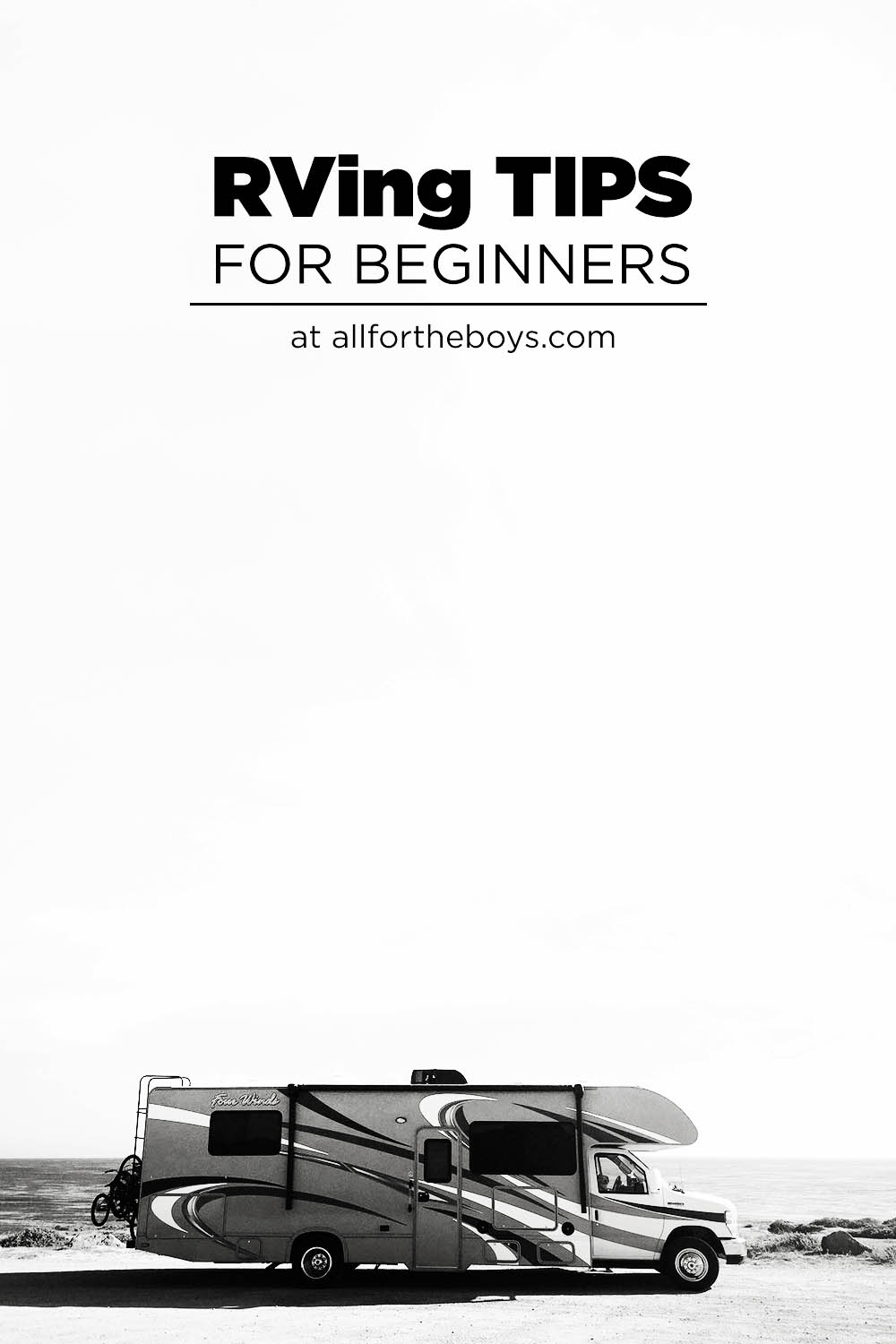 RVing tips from beginners
