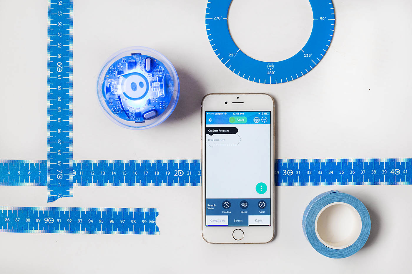 Sphero SPRK+ coding robot is SO cool and a perfect gift idea!