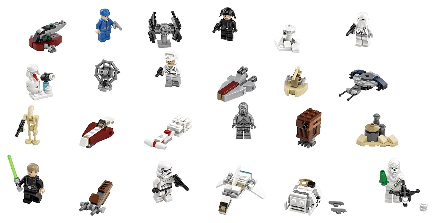 2016 LEGO advent calendars