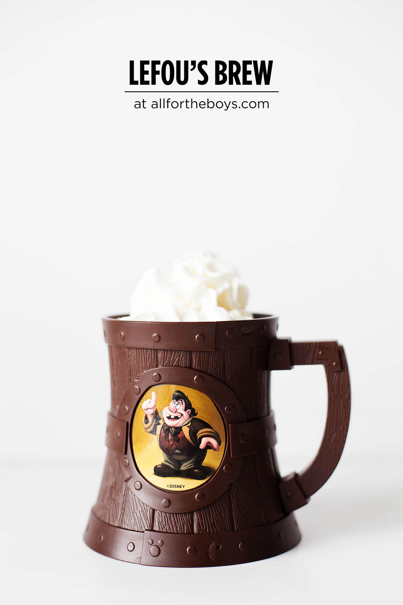 Lefou's Brew - a recipe inspired by the drink at Walt Disney World