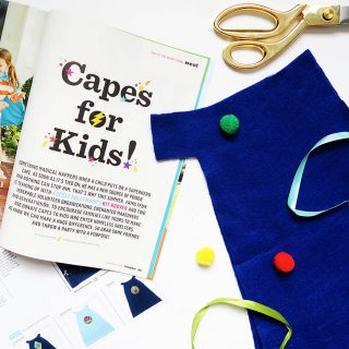 Giving Back: Capes for Kids