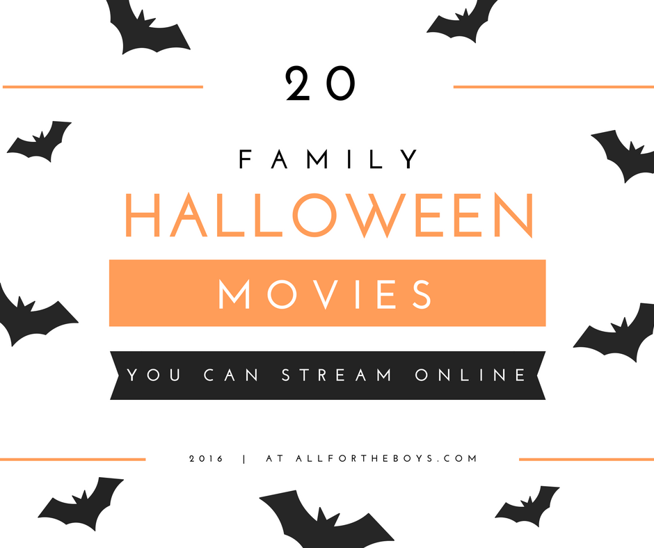 20 family Halloween movies you can stream online this year