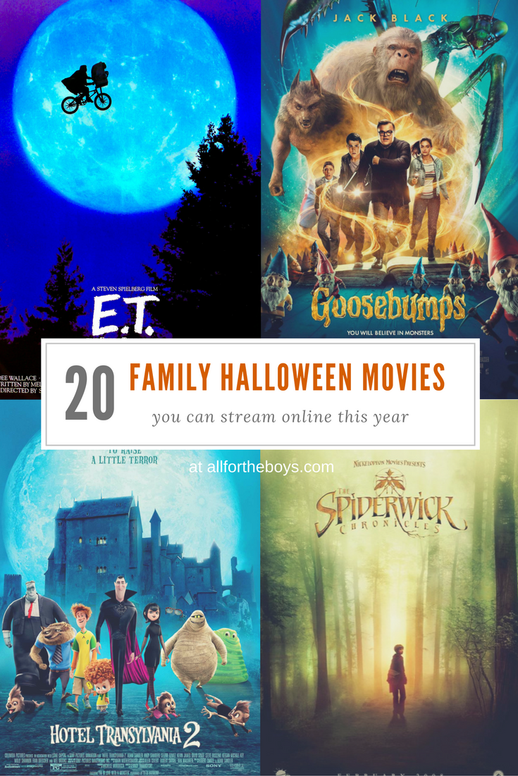 Family Halloween Movies You Can Stream Online — All for the Boys