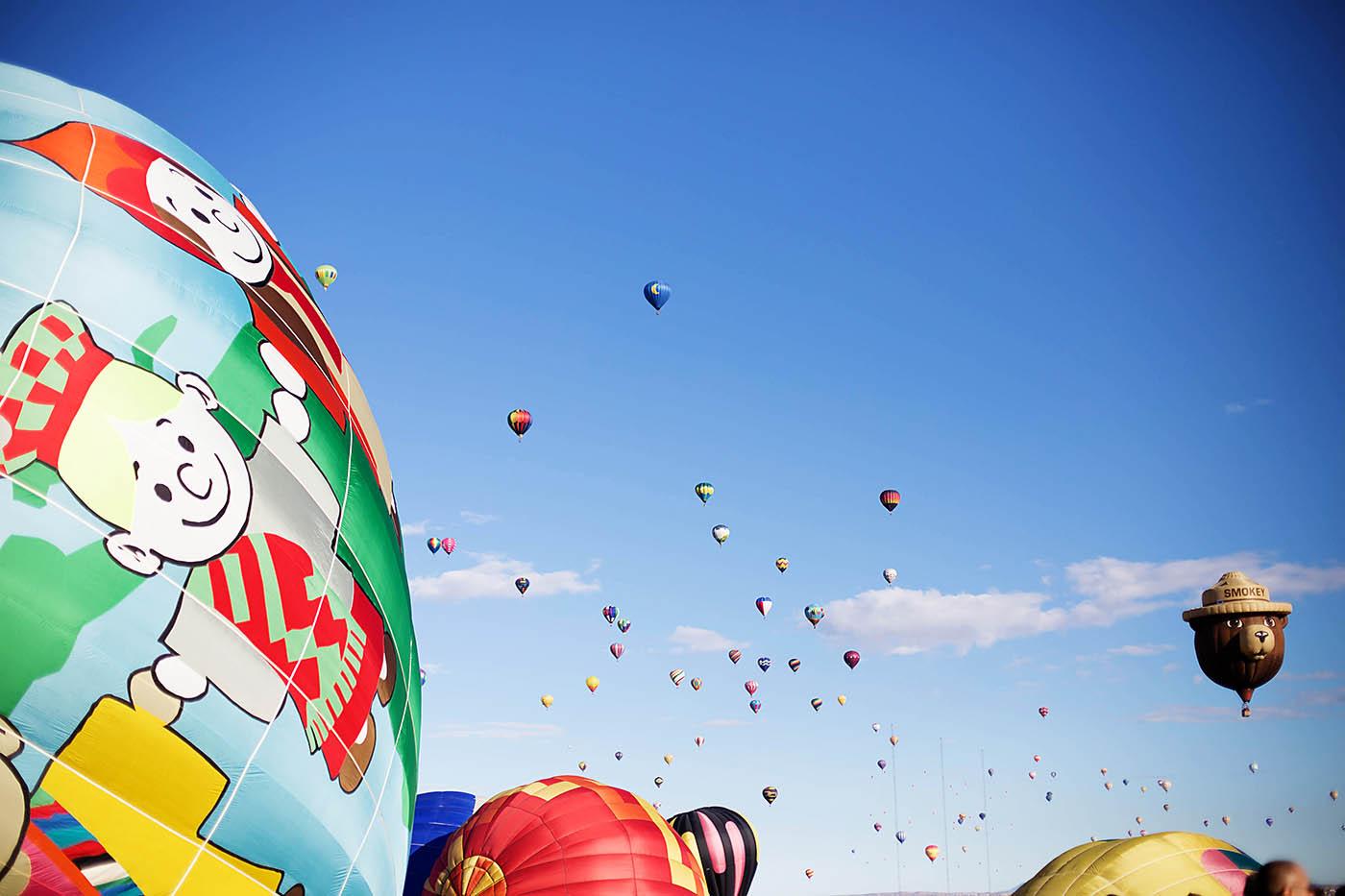 Albuquerque International Balloon Fiesta with AT&T GoPhone