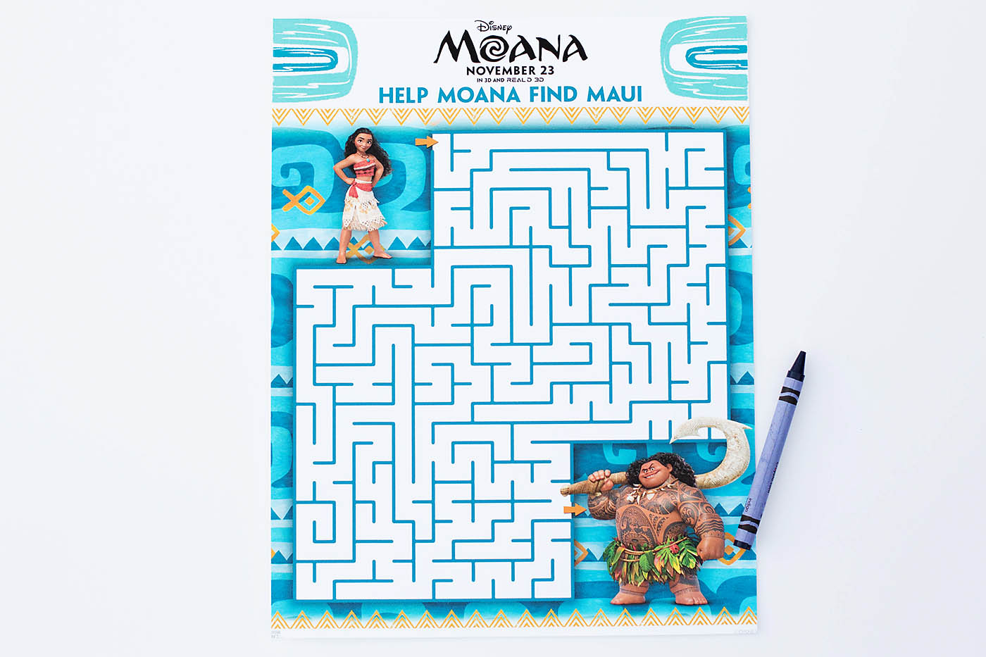 picture regarding Moana Sail Printable known as Moana Printable Coloring Webpages, Maze, Bookmarks Matching
