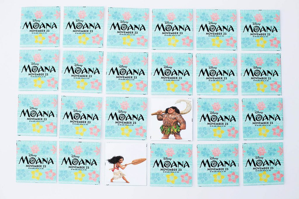 Moana Printable Coloring Pages, Maze, Bookmarks & Matching Game