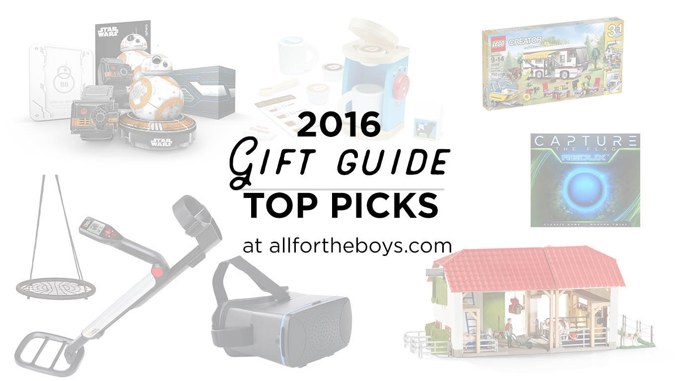 2016 Gift Guides: Top picks for great gifts from allfortheboys.com