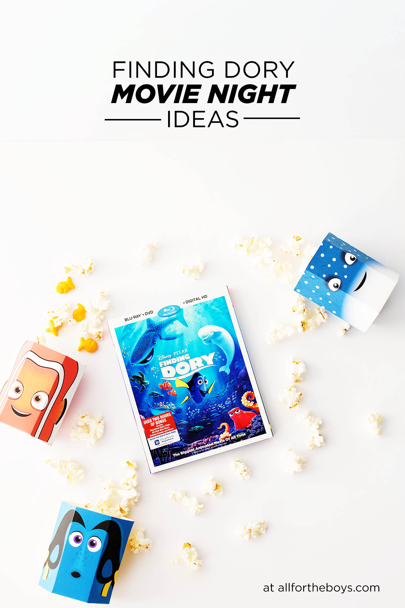 Finding Dory Movie Night Ideas