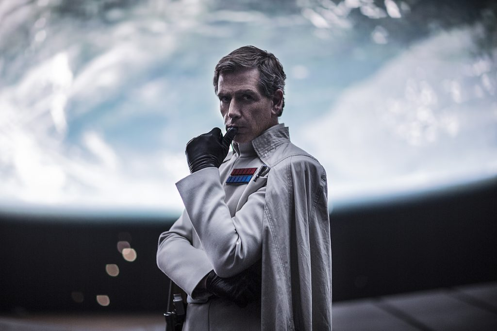 Ben Mendelsohn (Director Orson Krennic) on The Empire, Darth Vader & Rogue One