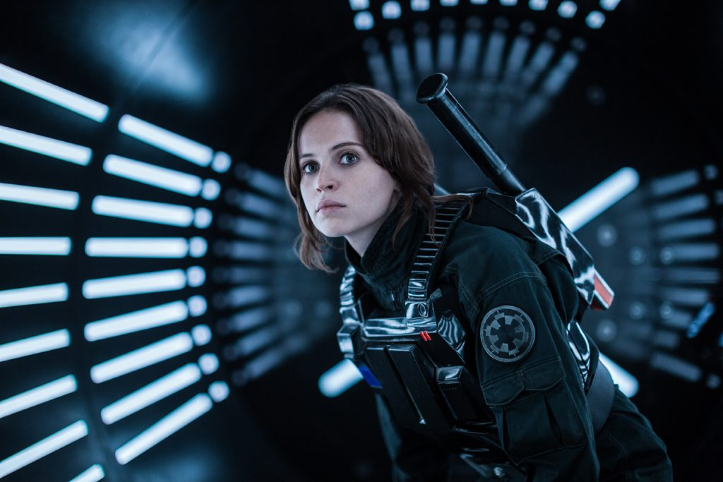 Felicity Jones (Jyn Erso) Rogue One Interview